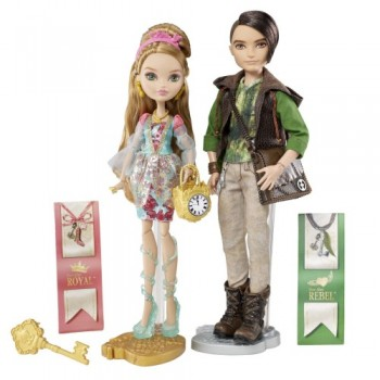 Ever After High - Ashlynn Ella i Hunter Huntsman